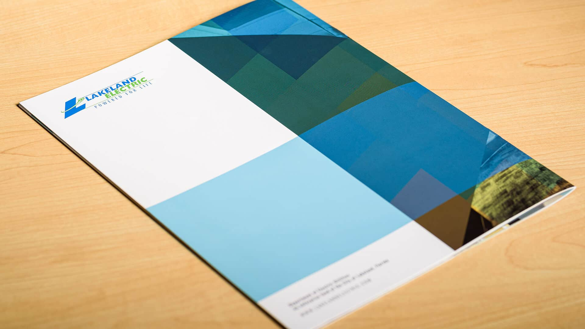 Lakeland Electric Annual Report Back